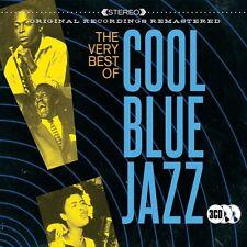 3 CD BOX COOL BLUE JAZZ GETZ BYRD DAVIS HOLIDAY PEPPER GIUFFRE BAKER JAMAL ETC
