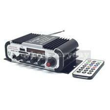 HY-600 12V 2 Channels HIFI Power Amplifier USB SD DVD MP3 Digital Player-Black