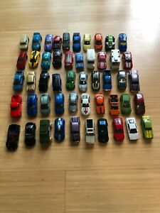 HOT WHEELS, MATCHBOX LOOSE CAR LOT OF 50