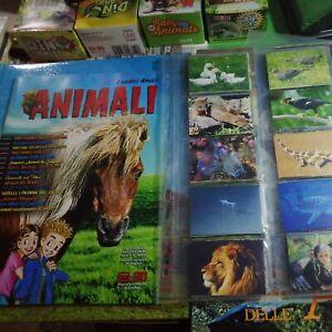 I nostri amici animali FOL.BO del 2007 album vuoto+Set Completo Figurine