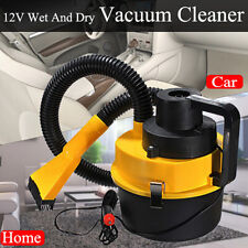 12V 90W Handheld Portable Vacuum Cleaner Wet & Dry For Car Caravan Home Office