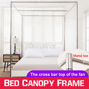 21mm Stainless Steel Bed Mosquito Canopy Nets Braket Frame Post Easy Install