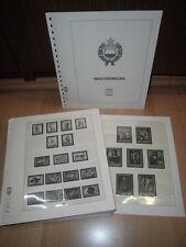 Lindner-T, Ungarn, 1962-1968 komplett, Vordruckblätter (1104)
