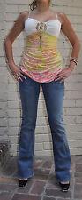 Rock & Republic Scorpion Blue Jeans 25 USA Flare Womens