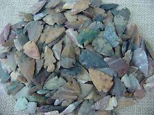 10 stone arrowheads bird points replica arrowheads bulk collection earthtones