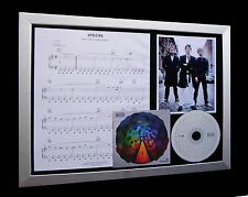 MUSE Uprising LTD GALLERY QUALITY MUSIC CD FRAMED DISPLAY+EXPRESS GLOBAL SHIP