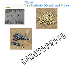 1/6 Scale HOT pistol bullet metal 50pcs TOYS pistol & mag not include XE47-03