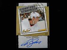 2006 Bee Hive  Ales Hemsky signature scrapbook autograph  Oilers