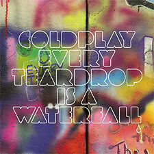 COLDPLAY Every Teardrop Is A Waterfall UK 2-track CD