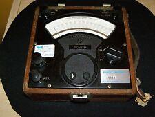 Vintage Sensitive Research Instrument Corp Direct Current DC Voltmeter Model S