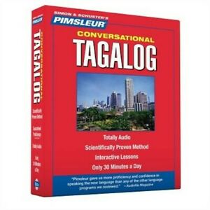 Conversational Tagalog: Learn to Speak and Understand Tagalog with Pimsleur Lang
