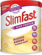 SlimFast Shake Powder 438g Various Flavours FREE NEXT DAY DELIVERY