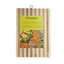 Bamboo Chopping Board - Rectangular Cutting Board, Extra Large, 45cm