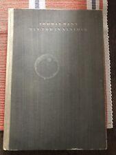 Der Tod In Venedig Erstausgabe Thomas Mann. 1924. Selten!