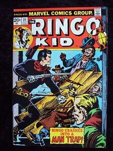 RINGO KID #21 MARVEL COMICS WESTERN