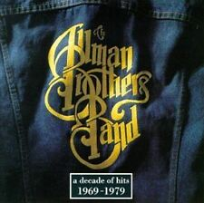 Allman Brothers Band - A Decade Of Hits - CD Album Damaged Case