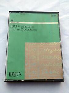 IBM IBM-JX IBMJX AUS NZ JAP Vintage Software 5601-SAT Assistant Home Solutions