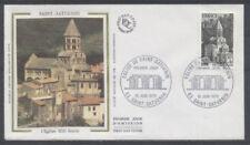 FRANCE FDC - 1998 1 EGLISE SAINT SATURNIN - 10 Juin 1978 - LUXE sur soie