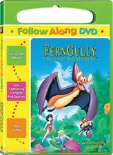Ferngully: The Last Rainforest Follow Along Subtitled Edition Carry Case NEW DVD