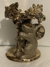 New ListingBath And Body Works Squirrel Pedestal 3-Wick Candle Holder