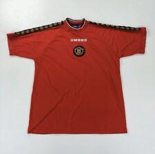 Manchester United Umbro 90s Football Training Shirt Size XXL 2XL