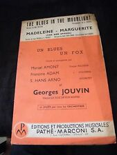 Partition The blues in the moonlight Madeleine Marguerite Jouvin Music Sheet