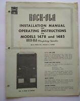 New NOS ROCKOLA Rock-Ola Jukebox Keyboard Solenoids Latch Solenoid #47201