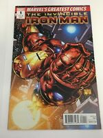 The Invincible Iron Man # 1 Marvel's Greatest Comics One-Shot 2010 VF