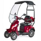 4 WHEEL ELECTRIC MOBILITY SCOOTER 1000W FASTER VELECO with Canopy
