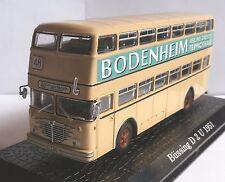 Büssing D 2 U * 1951 * Doppeldeckerbus * Bodenheim * Atlas 1:72 _
