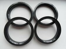 A set of 4pcs Plastic HUB CENTRIC HUBCENTRIC RING RINGS ID 57.10mm to OD 72.62mm