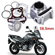 58.5mm Big Bore Cylinder Kit Piston Set For GY6 125CC 152QMI Scooter ATV