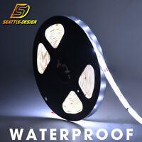 5M 3528 Flexible LED Strip Light Super Bright 7000K Cool White Waterproof DC 12V