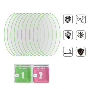 For Apple AirTag Protective Film Air Tag Tracker Screen Protector Tempered 10Pcs