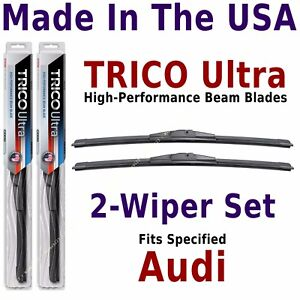 Buy American: TRICO Ultra 2-Wiper Blade Set: fits listed Audi: 13-26-26