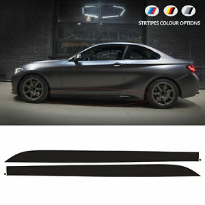 Side Vinyl STICKERS compatible with BMW M1 M2 PERFORMANCE F20 F21 F22 F23 models