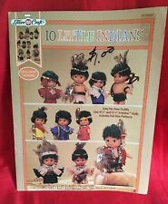 Fibre-Craft 1994 10 Little Impkins Instruction Pamphlet for Easy No-Sew Outfits