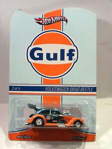 Hot Wheels 2014 RLC Gulf Volkswagen VW Drag Beetle Käfer #3650/4000