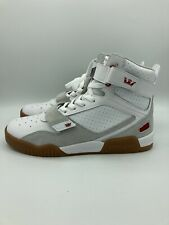 54 Supra Breaker 05893-173-M Mens White High Top Surf Skate Shoes Size 7.5