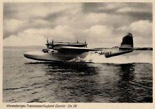 21622/ Foto AK, Wasserflugzeug Dornier Do 26