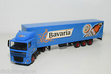 LION CAR DAF 95 XF 95XF TRUCK WITH TRAILER BAVARIA BEER BIER NEAR MINT CONDITION