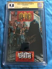 Batman: Legends of the Dark Knight #21 - DC - CGC SS 9.8 NM/MT -Signed by Sears