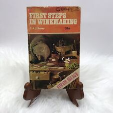 First Steps In Winemaking Book By C.J.J. Berry Paperback