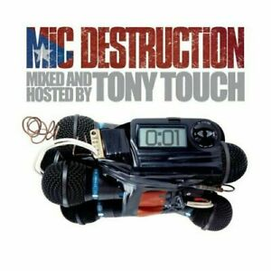 MIC DESTRUCTION MIXED BY TONY TOUCH CD NEW SEALED
