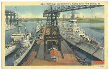 NK-15 Battleships Destroyers Norfolk Navy Yard VA Virginia Military Ship