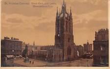 uk13569 st nicholas cathedral black gate and castle newcastle upon tyne    uk