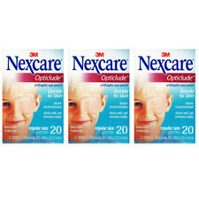 Nexcare Opticlude Eye Patch Regular Size 3 Boxes 60 Patches