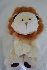 "Costco Little Miracles 13"" Yellow Plush Fuzzy Lion"