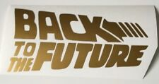 Back to the future,car decal/ sticker for windows, bumpers , panel or Laptop ,