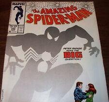 The Amazing Spider-Man #290 The Big Question from July 1987 in VG+ con. NS